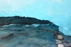 Unter dem Gletscherrand.