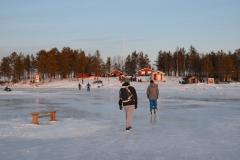 Luleå Gråsjälören im Winter