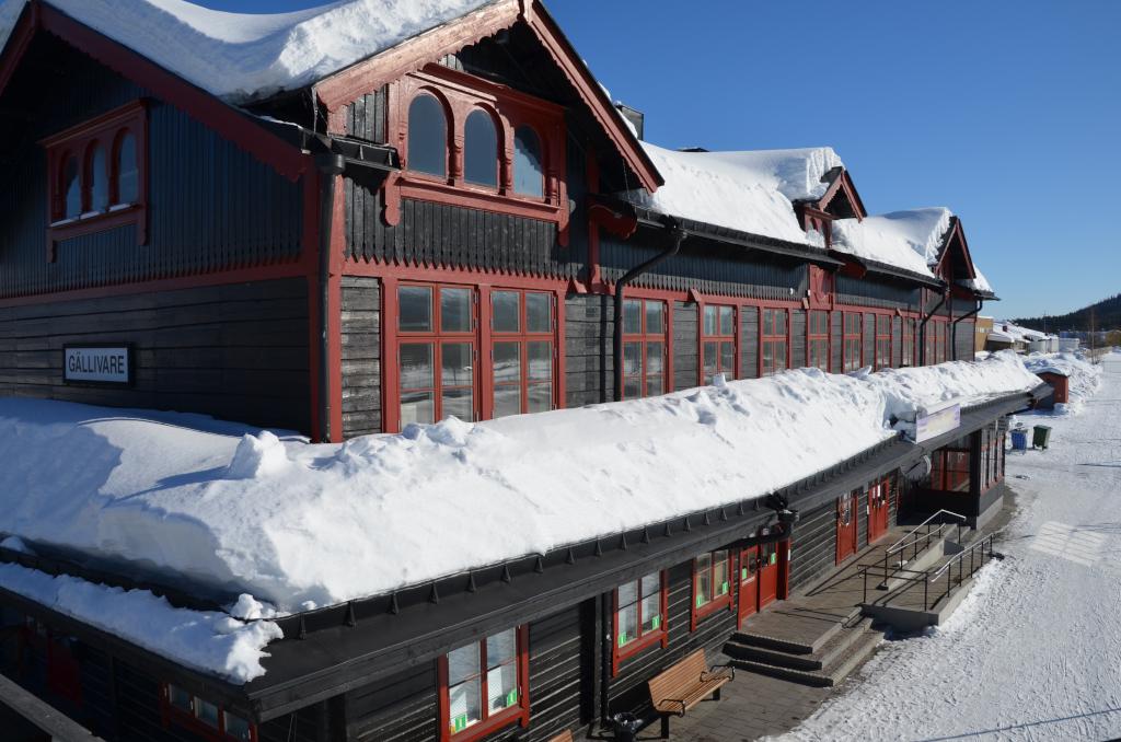 Gaellivare-Bahnhof