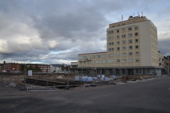 Gaellivare-zentrale-Baustelle