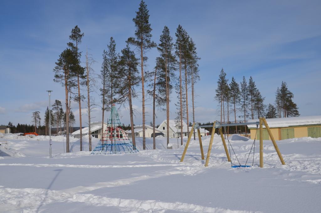 Neuer Spielplatz Solbacken