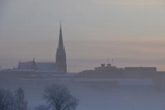 Nebel-über-Norra-Hamn