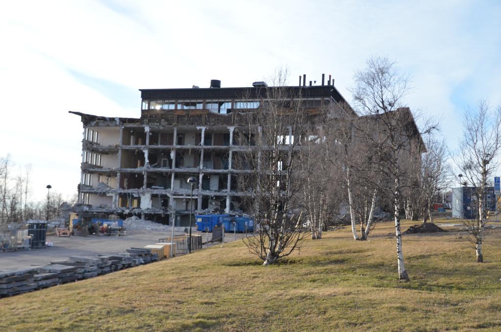 Kiruna-altes-Rathaus-Abriss