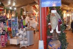 Polarkreis, Weihnachtsmann und Souvenirs