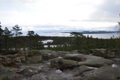 Auf dem Höga Kustenleden befindet man sich zeitweise hoch über dem Meer - auch hier im Skuleskogen.