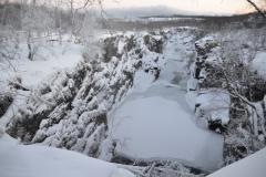 Abiskojåkka-Januar