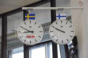 Zeitzone Schweden