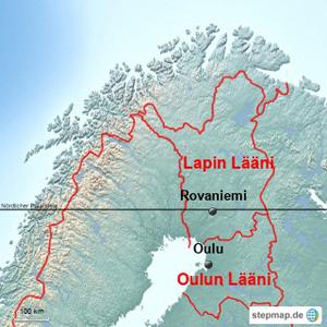 Finnland Läänit