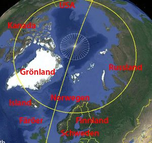 polarkreis karte Länder   polarkreisportal.de polarkreis karte