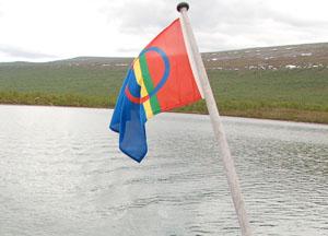 Sápmi Flagge