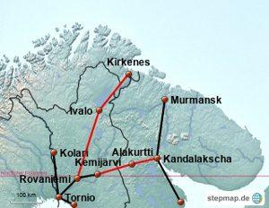 Trasse Murmansk