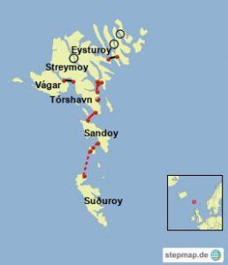 Färöer Inseln Karte.Autofahren Auf Den Färöer Von Schafen Und Tunneln Polarkreisportal De