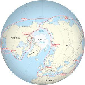 Seewege der Arktis