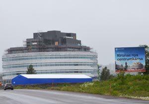 Kirunas neues Zentrum