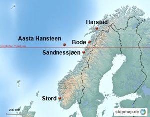 Aasta Hansteen Karte