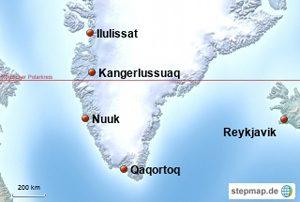 Grönland Flughäfen
