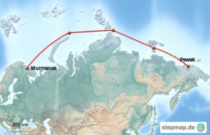 Karte Etappe 2
