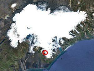 Island Bergrutsch