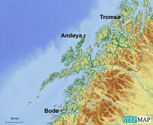 Karte Norwegen Mit Polarkreis.Andøya Norwegische Rakete Erfolgreich Gestartet