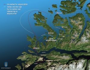 Schiffstunnel Karte