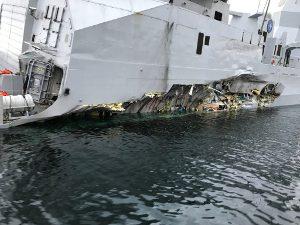 Schäden Fregatte