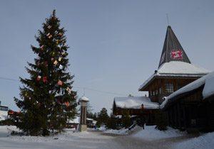 Weihnachtsdorf Rovaniemi