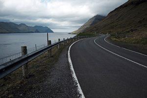 Straße Färöer