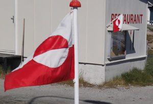 Grönland Flagge