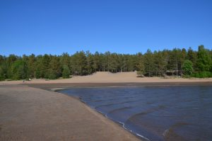Storsand Niedrigwasser