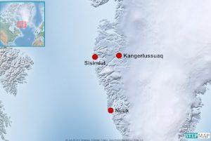 Karte Sisimiut
