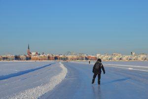 Luleå Eisbahn