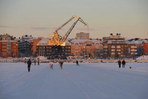Södra Hamn Januar