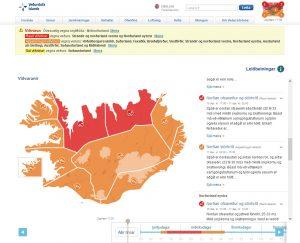 Wetterwarnung Rot