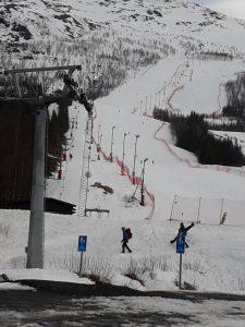 Narvik April Piste