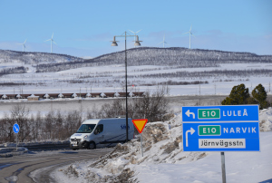 Alte E10 Kiruna