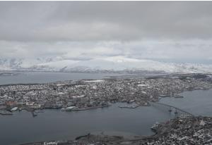 Blick auf Kvaløya