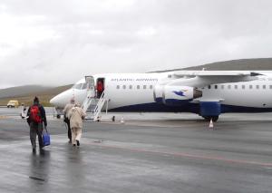 Färöer Flugzeug