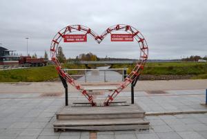 Herz Grenze Tornio Haparanda