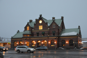 Bahnhof Umeå
