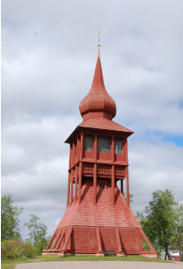 Kiruna Kyrka Klocktorn