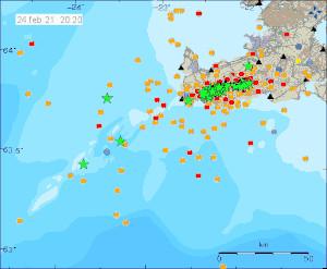 Erdbeben Reykjanes 24 Feb
