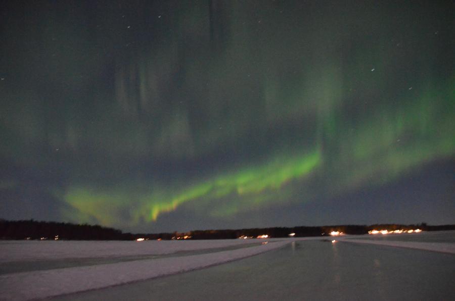 Nordlicht Piteå Eisbahn