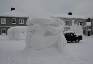 Schneekunst Piteå