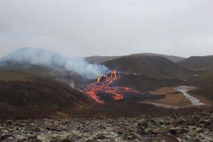 Tagbild Vulkan Geldingadalur