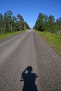 Radstrecke im Nirgendwo
