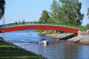 Brücke am Strömsundkanal, Norra Hamn