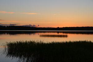 Mitternacht in Piteå