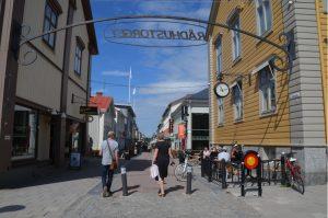 Piteå Fußgängerzone