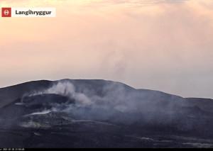 Vulkan Fagradalsfjall lebt