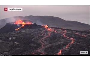 5 Monate Vulkan Fagradalsfjall